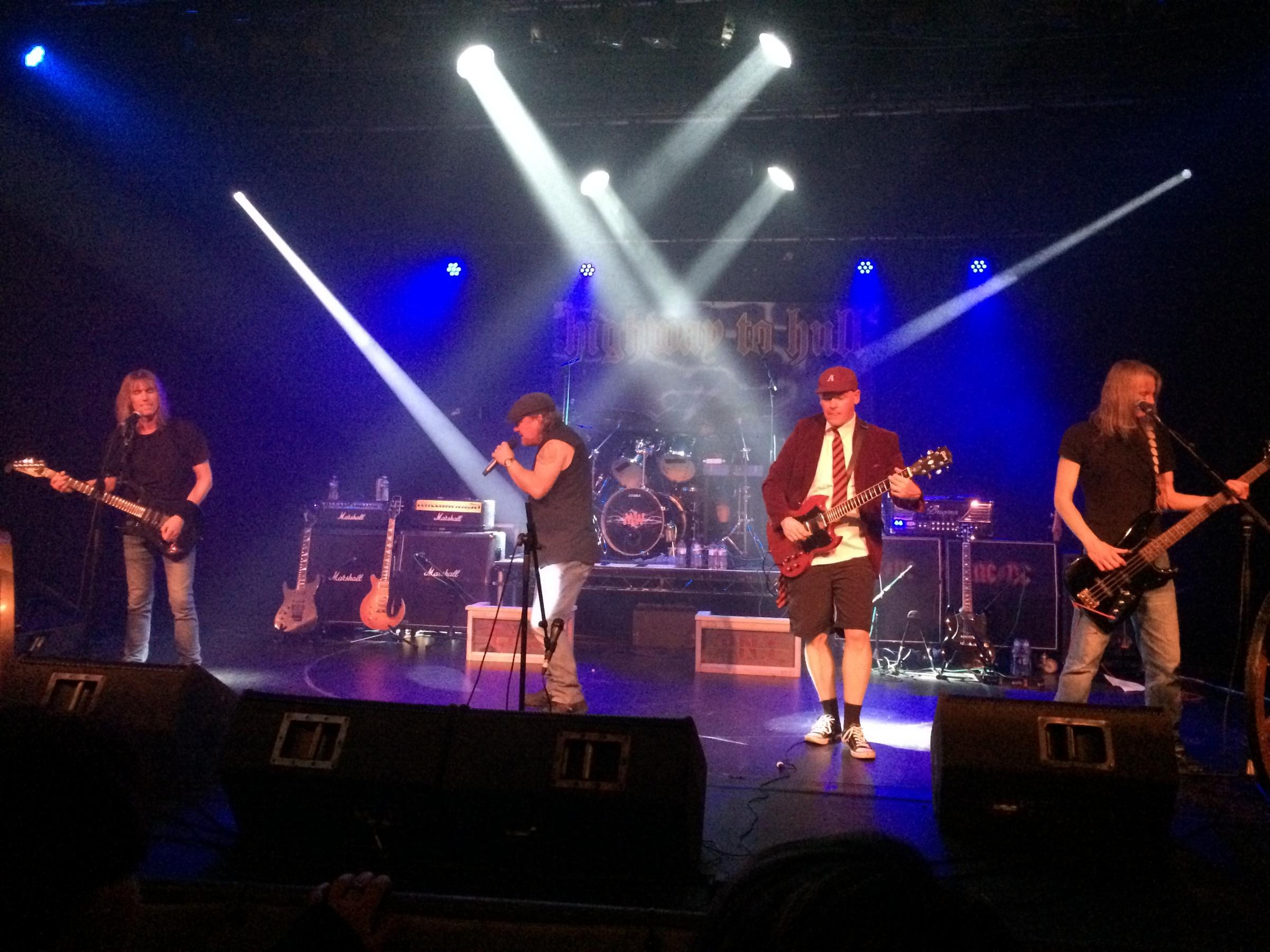 Highway to Hull - Yorkshire's answer to AC/DC - hits the stage in Keighley