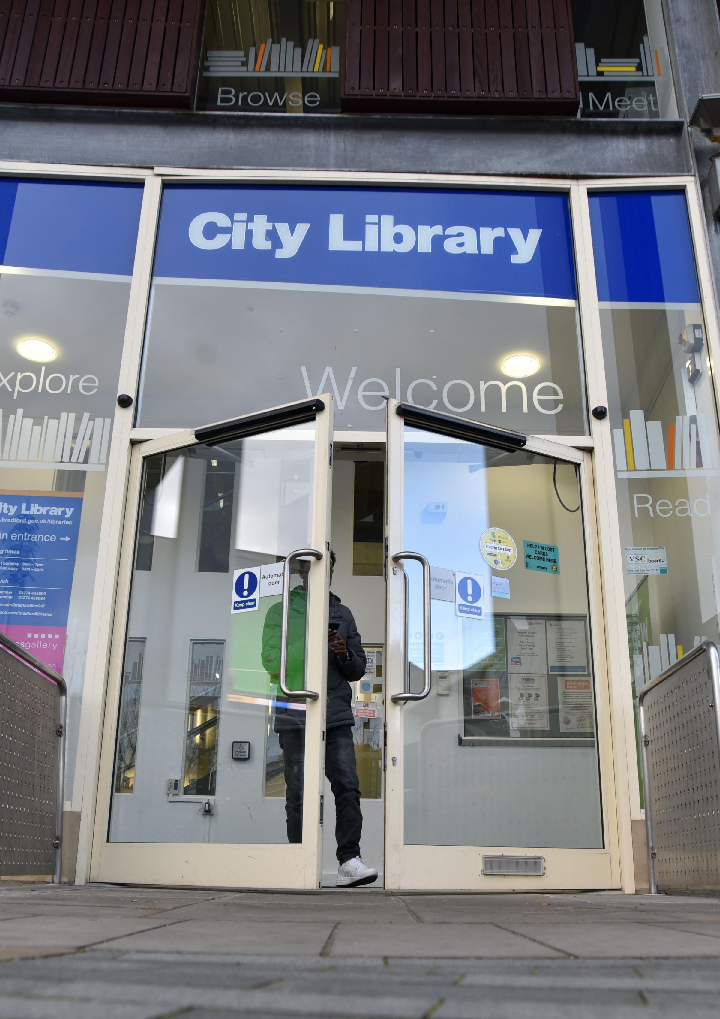 Bradford central Library will become a community hub under the new plans