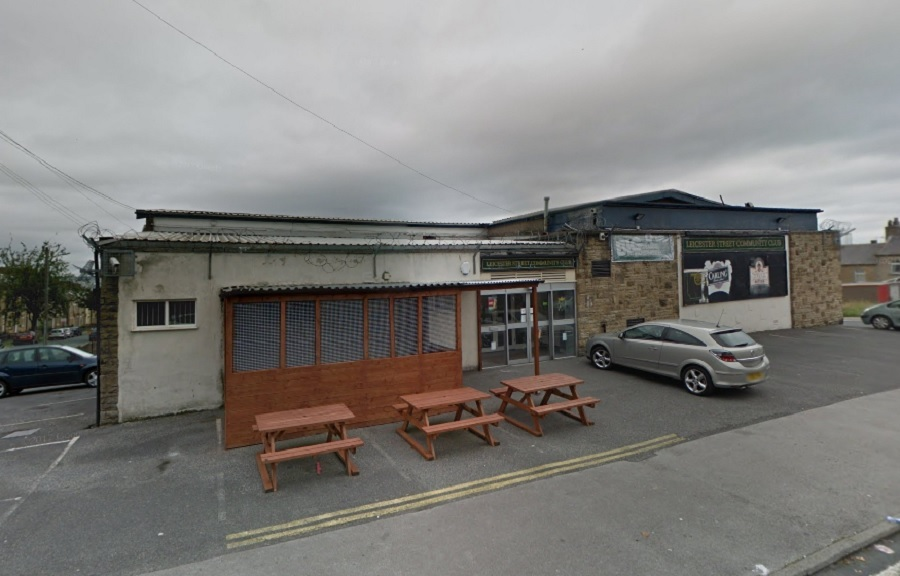 Leicester Street Club in East Bowling - picture from Google Street View