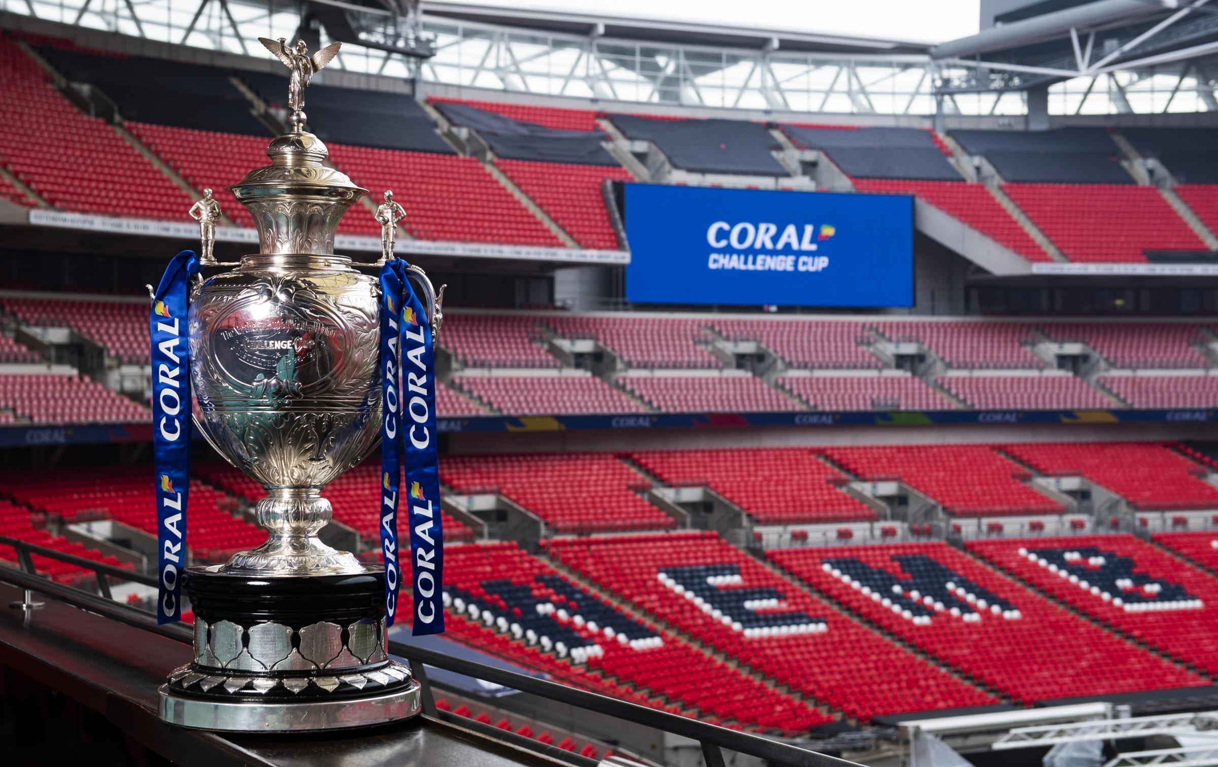 The Challenge Cup has a new sponsor in bookmaker Coral