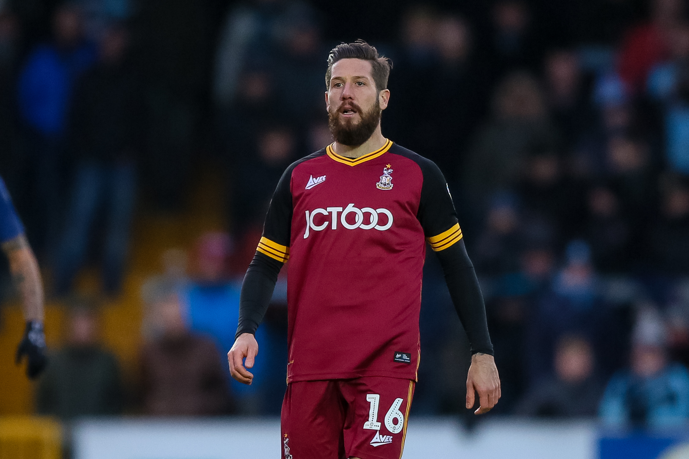 Jacob Butterfield made his debut for his hometown club via a late substitute appearance in City's goalless draw at Wycombe Wanderers in League One. Picture: Thomas Gadd