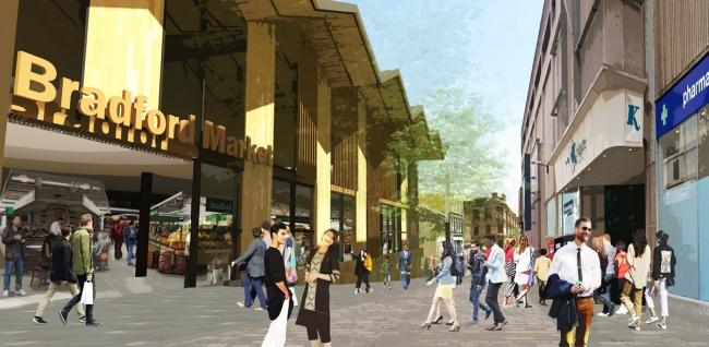 The latest artist's impression into the new Darley Street Market