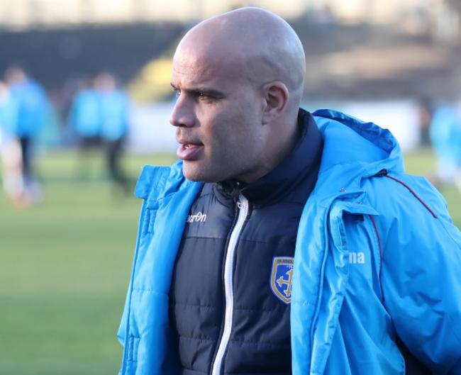 Guiseley joint-manager Marcus Bignot says his side need to find new ways to compete for players with their rivals. Picture: Alex Daniel Photography