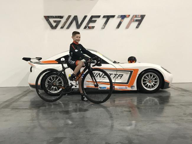 Billy Ladle will ride in partnership with Ginetta cars this season