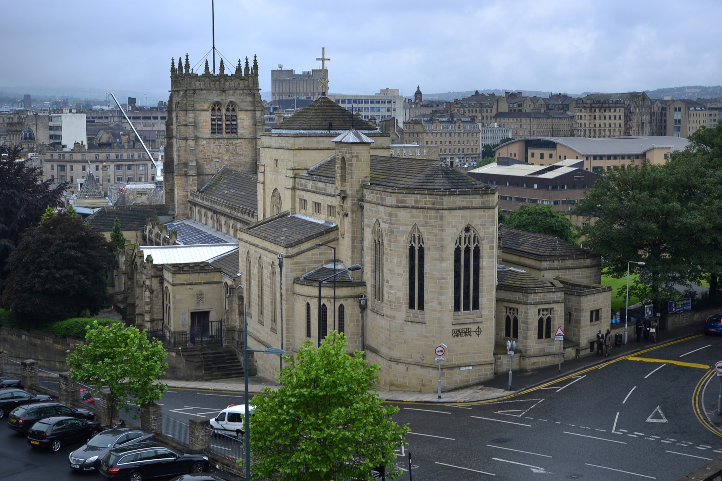 Bradford Cathedral session to help with your mindfulness