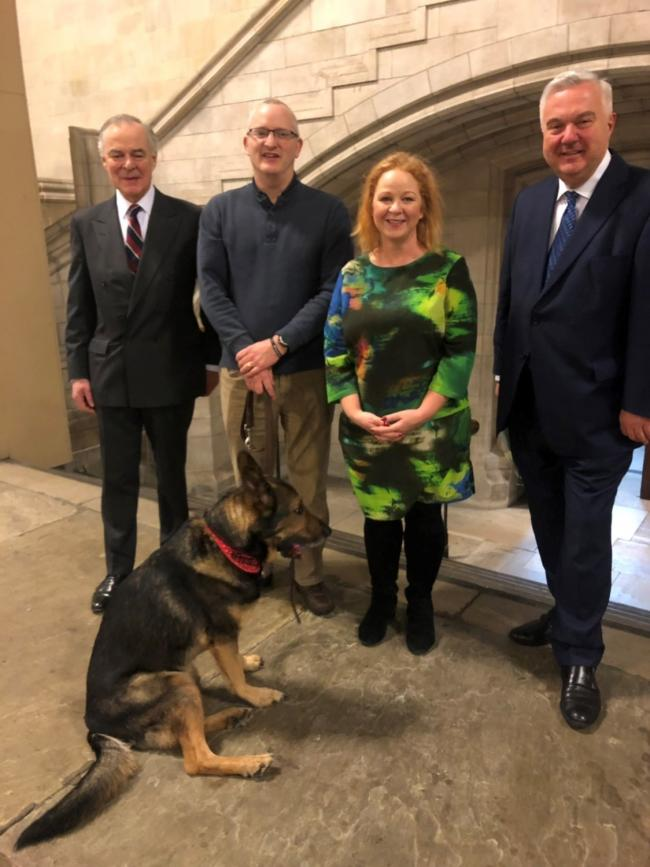 Bradford South MP Judith Cummins MP has welcomed the progress of law to protect police dogs