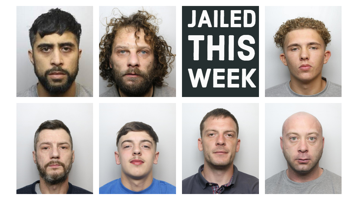 They've all been jailed this week.