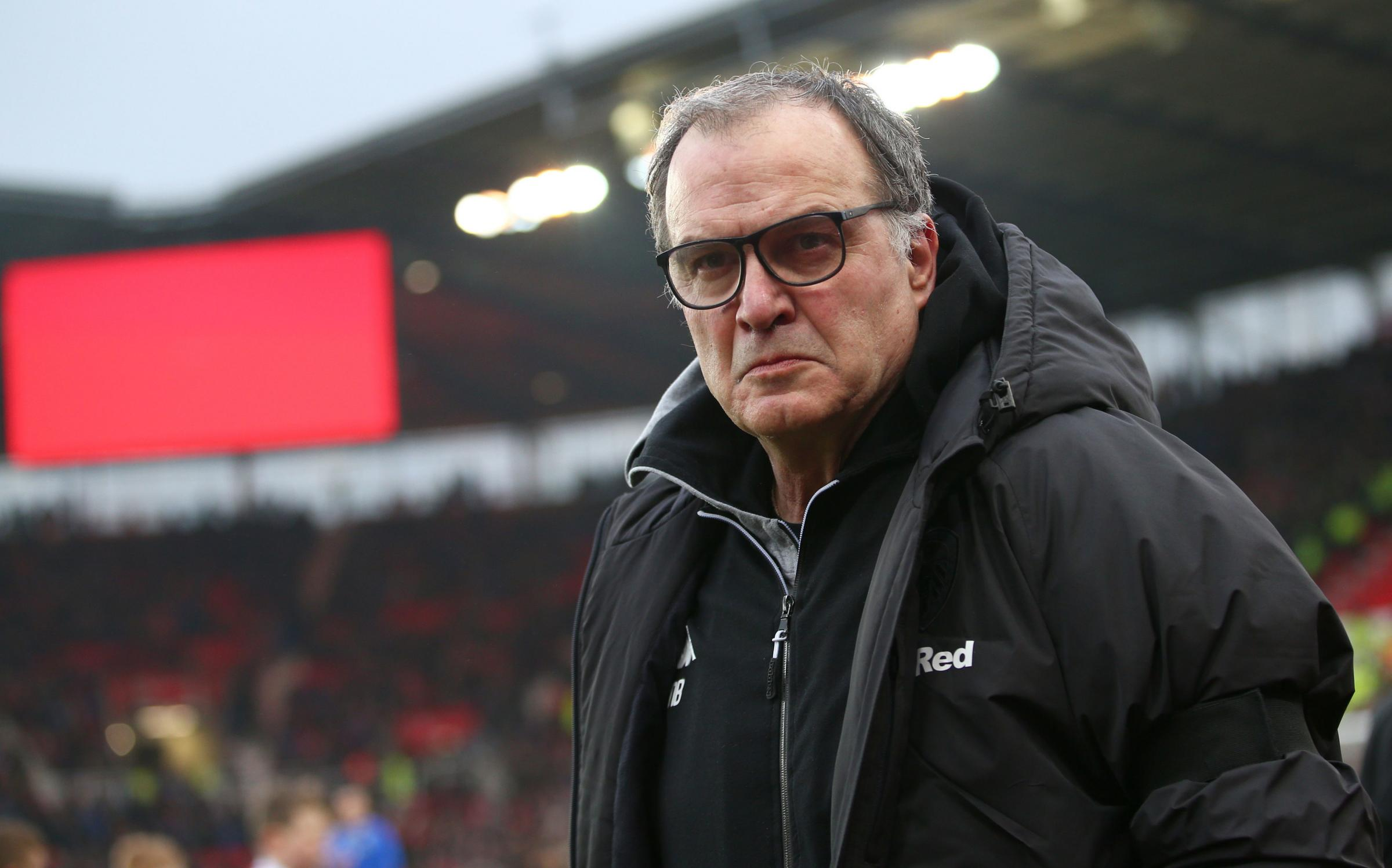 Leeds United manager Marcelo Bielsa   Picture: Dave Thompson/PA Wire