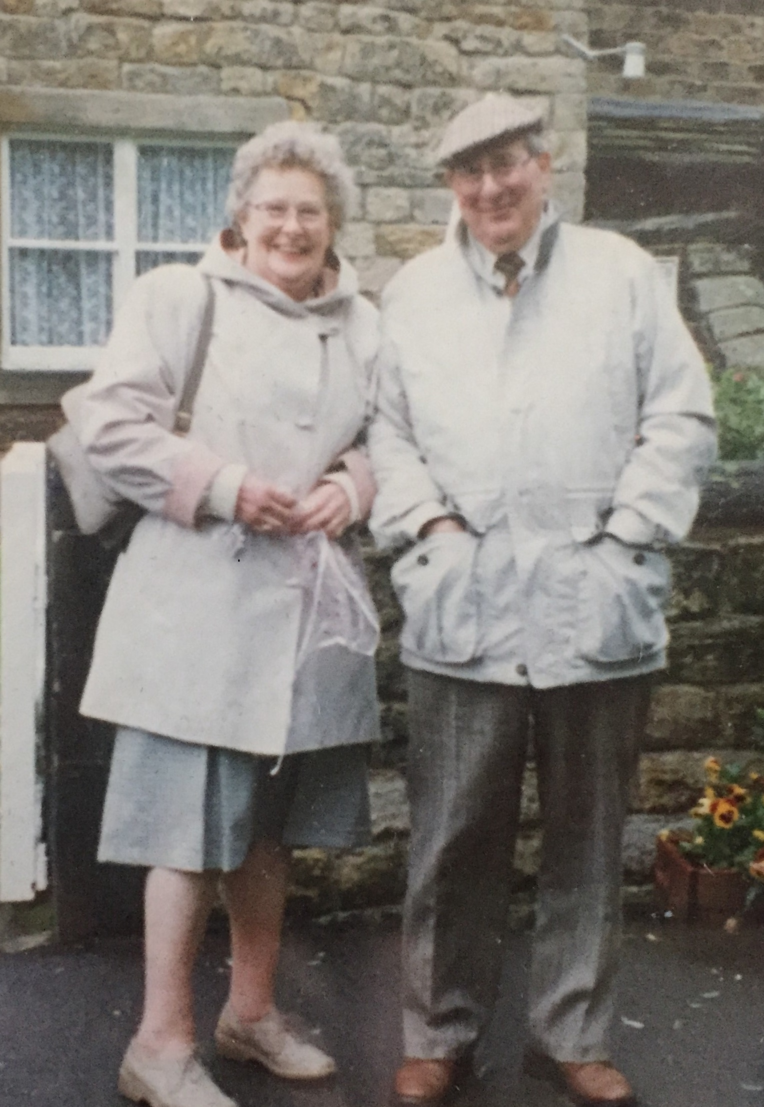 Marion and Eric Walsh, who died in a crash in Cleckheaton last week