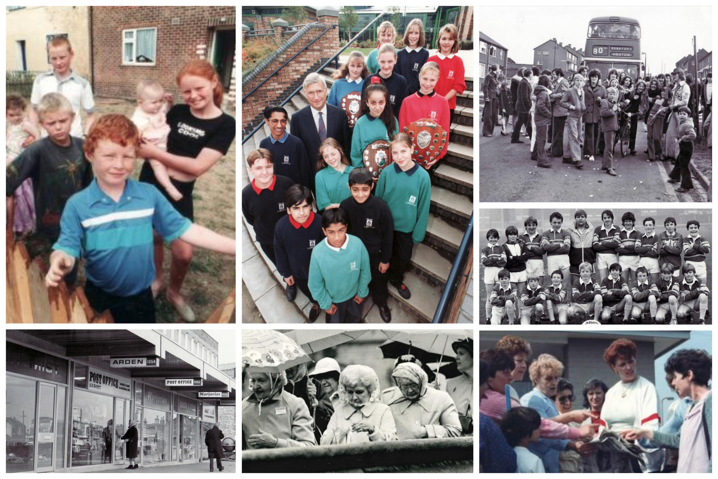 Love looking back at old pictures and reminiscing about Bradford's past?