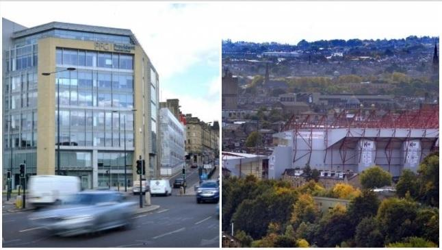 Provident's headquarters and Bradford City's stadium