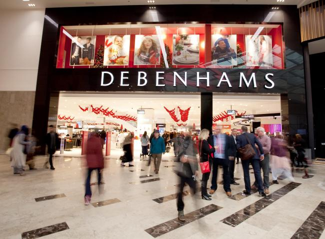 The Debenhams store in The Broadway. Picture: Steve Hall