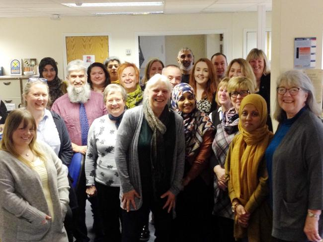 Carers Resource staff celebrate
