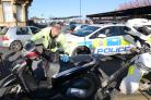 The Steerside Enforcement Team seized the bike