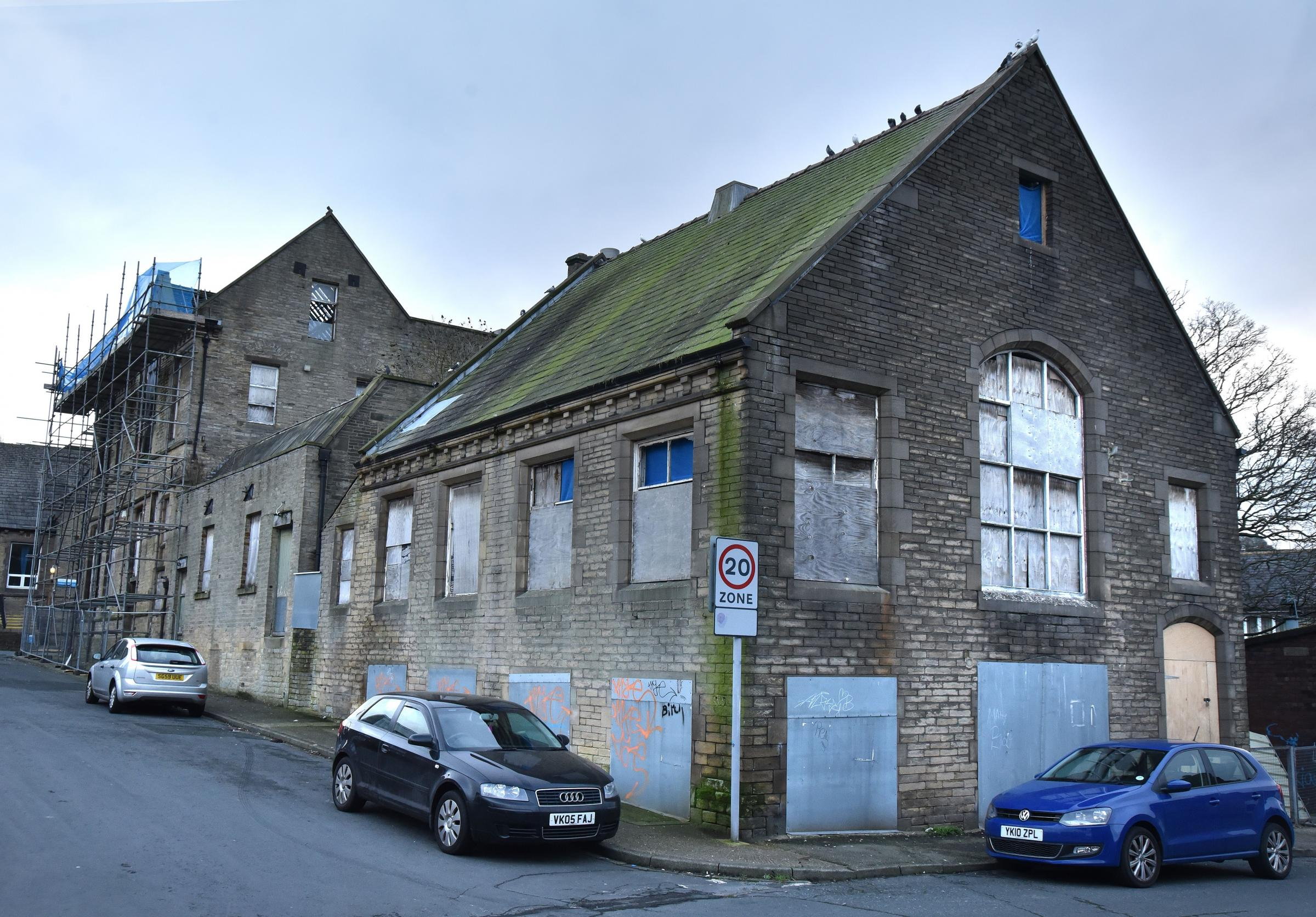 Priesthorpe Annexe in Bingley. Plans for its demolition have been approved.