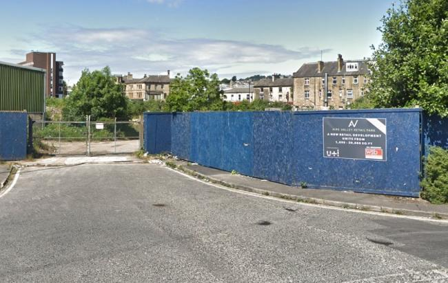 The site of the proposed Aire Valley Retail Park - image from Google Street View