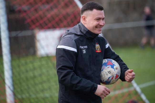 Silsden manager Danny Forrest handed a first-team debut to Kyle Welsh on Boxing Day Picture: David Brett