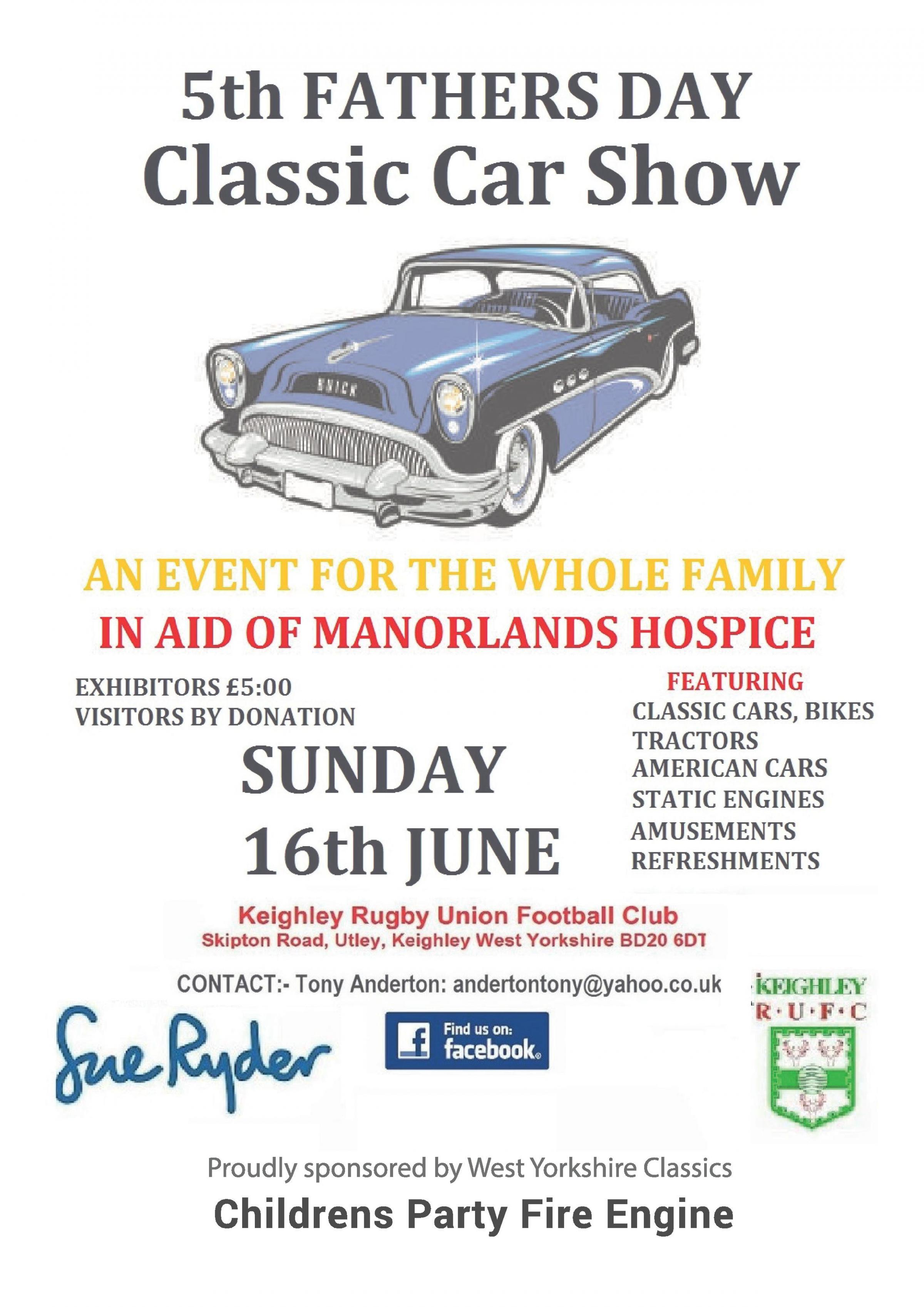 FATHERS DAY CLASSIC CAR SHOW