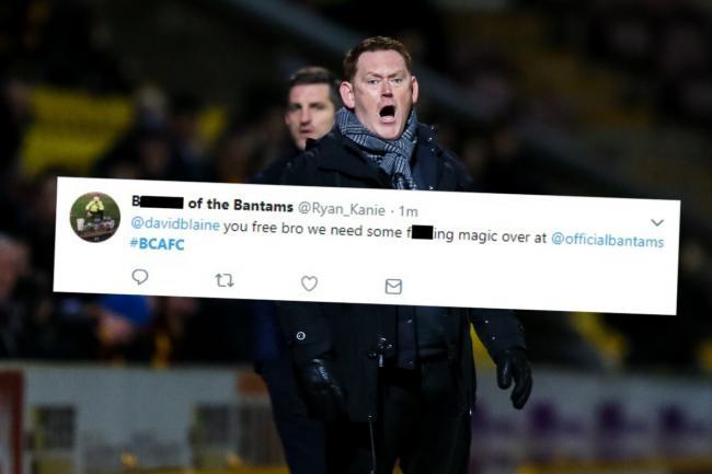 ff256edc42c15 Bradford City fans react on Twitter to David Hopkin resignation ...
