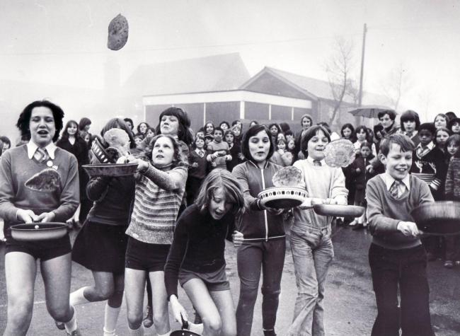 1977 Buttershaw Middle School Shrove Tuesday