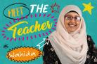 Wahida Parveen, who teaches at Princeville Primary School