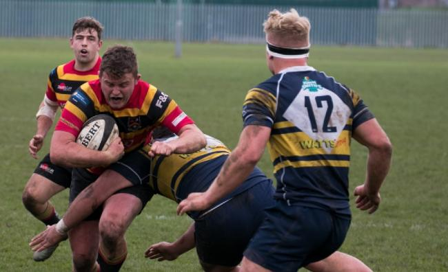Mat Cochrane was among the try scorers in Bradford & Bingley's defeat at Consett in North One East
