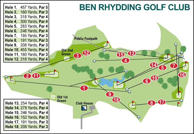Bradford Telegraph and Argus: Ben Rhydding Golf Club