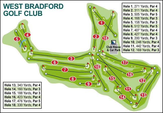 Bradford Telegraph and Argus: West Bradford Golf Club