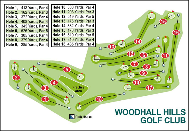Bradford Telegraph and Argus: Woodhall Hills Golf Club