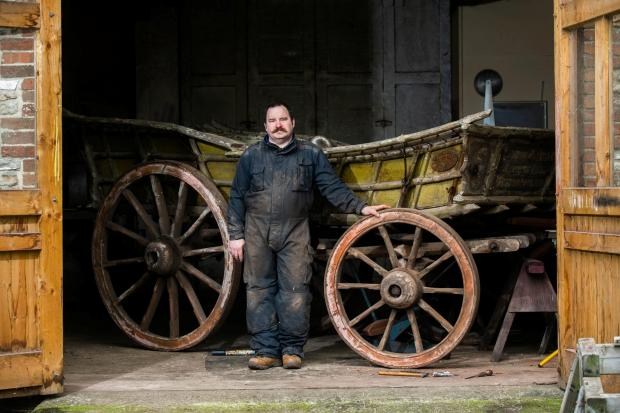 Bradford Telegraph and Argus: Greg Rowland in his workshop in Colyton, Devon