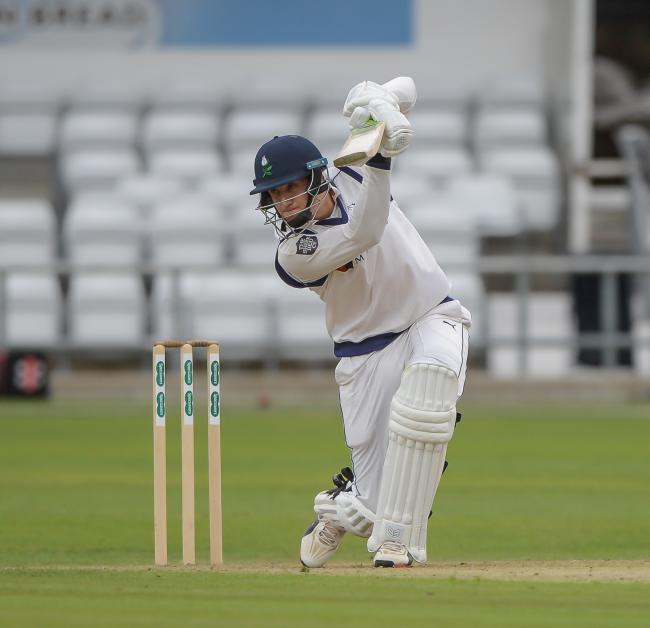 Yorkshire's Tom Kohler-Cadmore had a brilliant summer with the bat last year Picture: Ray Spencer
