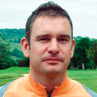 Bradford Telegraph and Argus: Keighley Golf Club Professional Andrew Rhodes