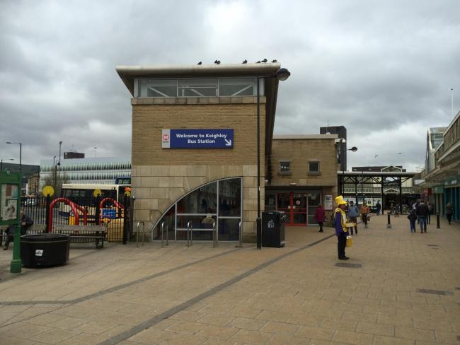 Keighley bus station