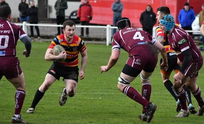 Bradford and Bingley's Jack Malthouse in action Picture: Richard Leach