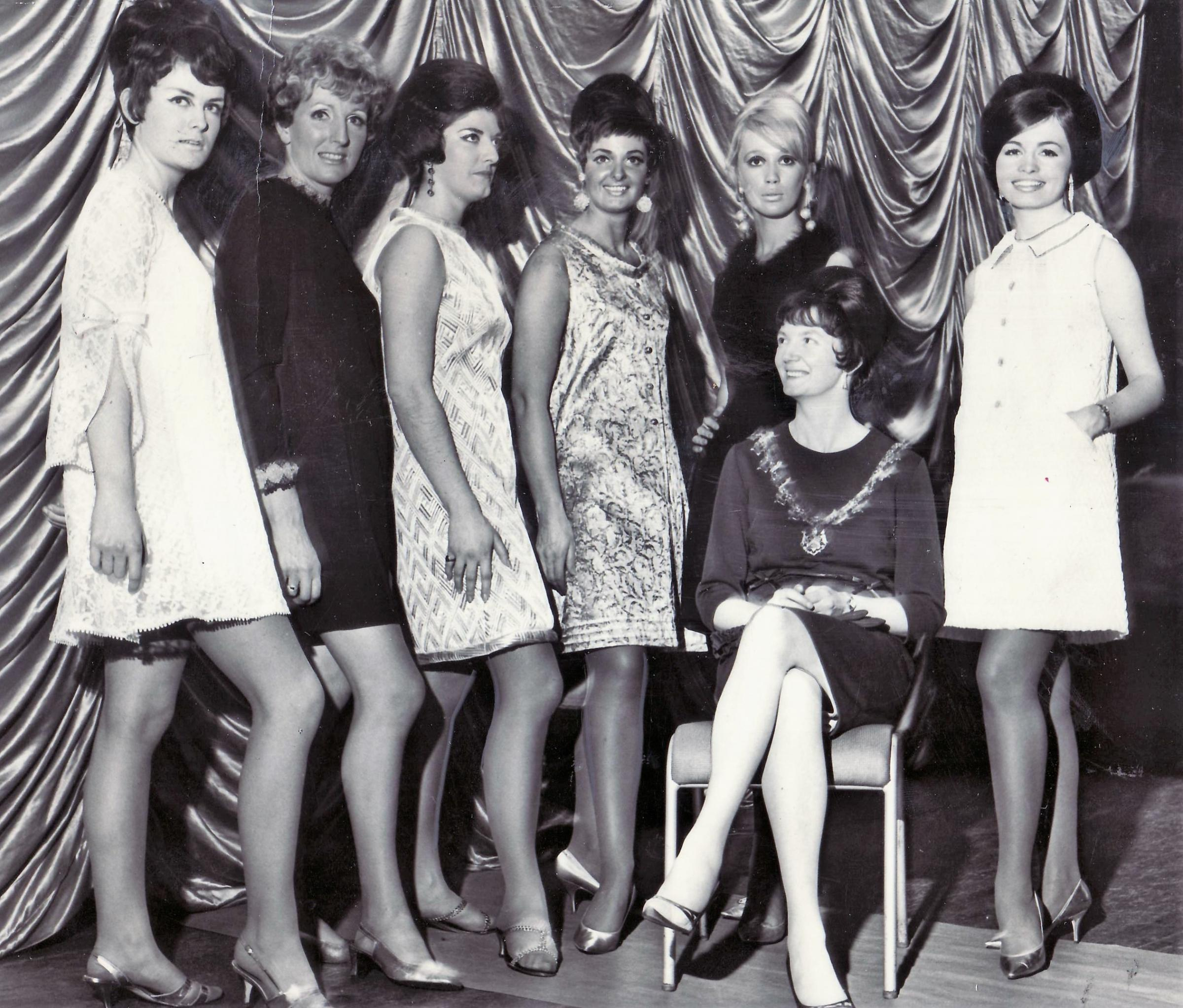 December 1, 1967 fashion show at Queen's Hall