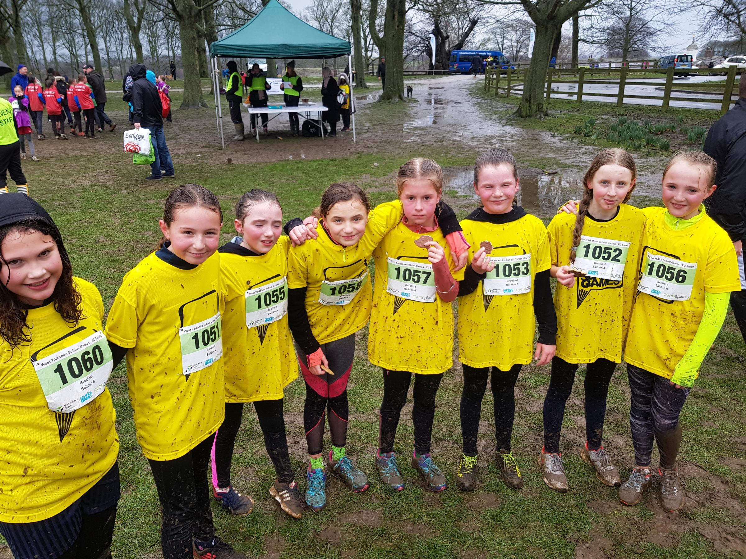 Baildon Church School were among the honours at Temple Newsam, with their Year 6 girls claiming silver