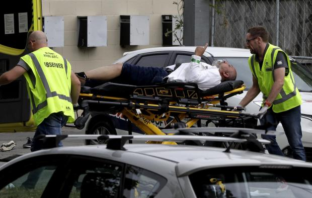 Bradford Telegraph and Argus: Forty people have been killed in mass shootings at two mosques in New Zealand. Pic: AP Photo