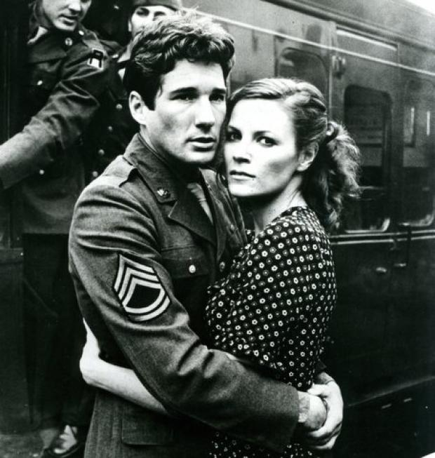 Richard Gere and Lisa Eichhorn in Yanks