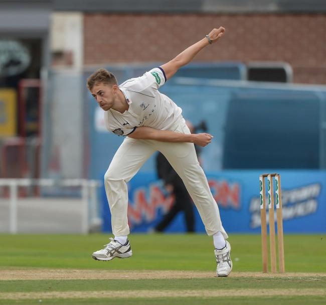 Ben Coad's 2-30 helped steer Yorkshire to victory over Surrey in the Specsavers County Championship. Picture: Ray Spencer