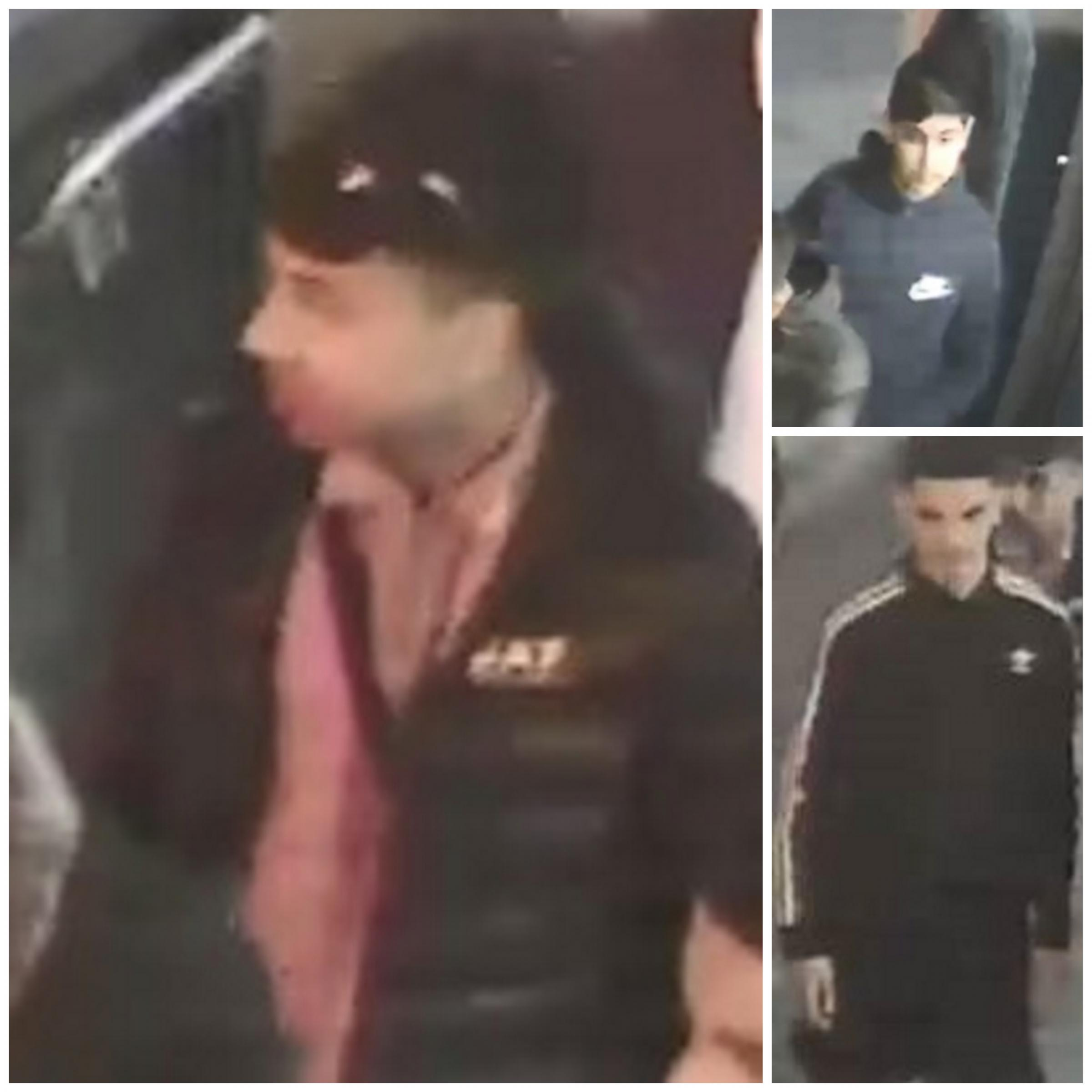 Do you recognise these men in connection with Bradford case?