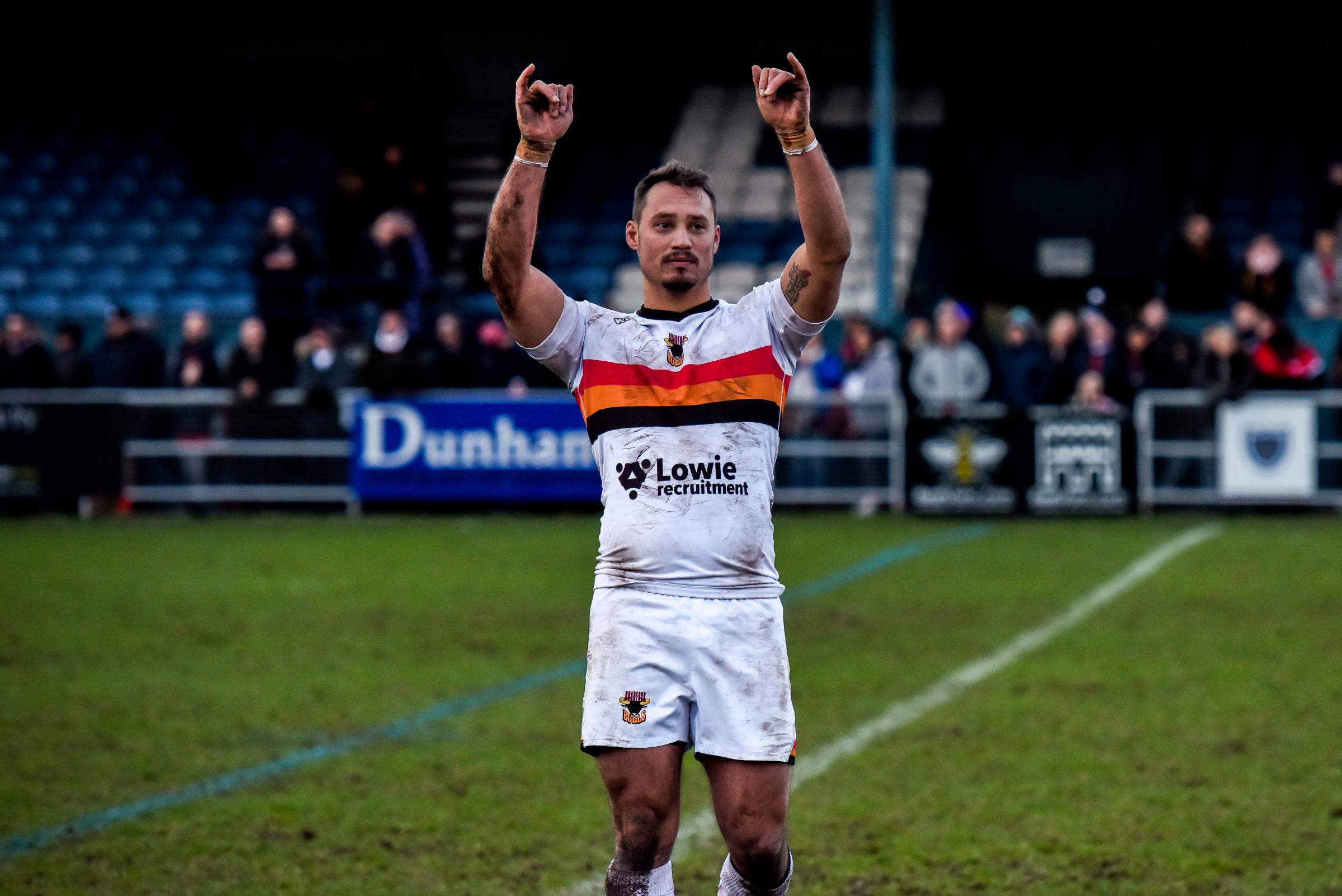 Dane Chisholm has said goodbye to Bulls for the season to join Featherstone Rovers. Picture: Tom Pearson