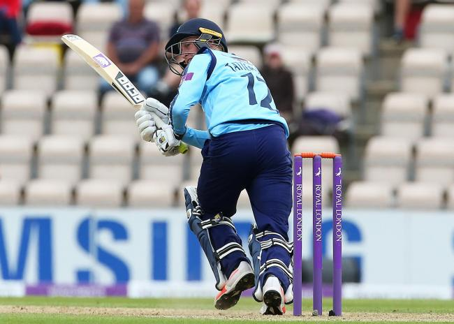 Yorkshire's Jonathan Tattersall was their last-over hero against Northants   Picture: Mark Kerton/PA Wire
