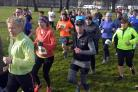 Runners set off from Victoria Park in last year's BigK 10K