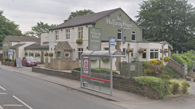The Halfway House in Baildon - image from Google Street View
