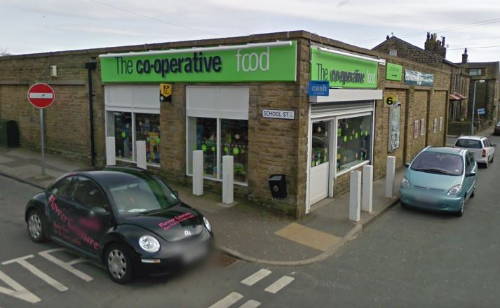 Denholme Co-Op robbed by five men with axes
