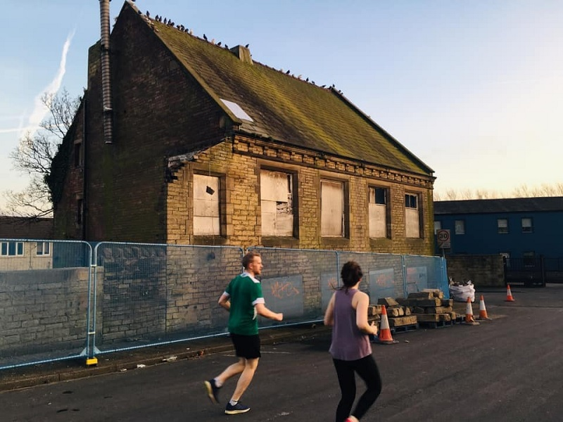 The former gym building that will become housing Picture by Telegraph & Argus Camera Club member Deborah Clarke
