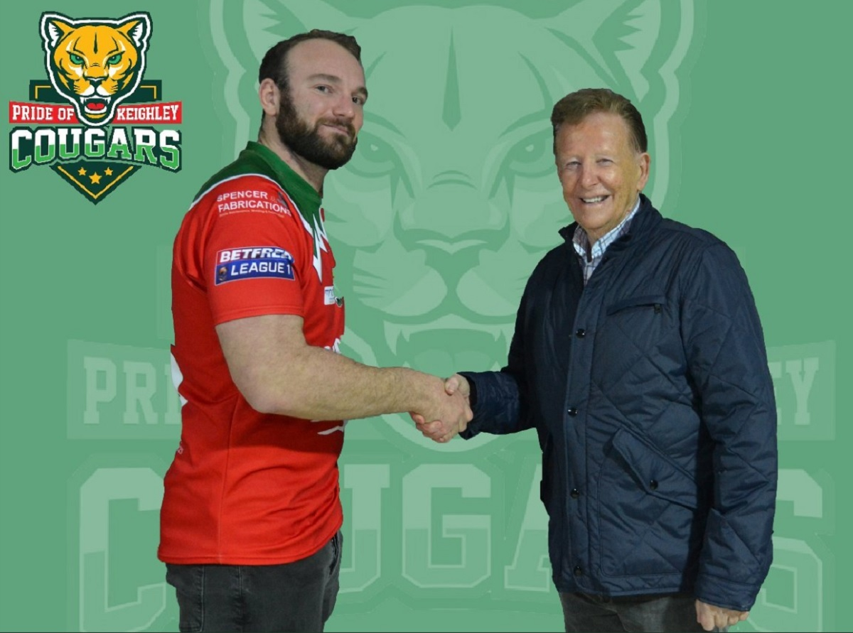 New recruit Matt Nicholson is in the Cougars squad to face West Wales
