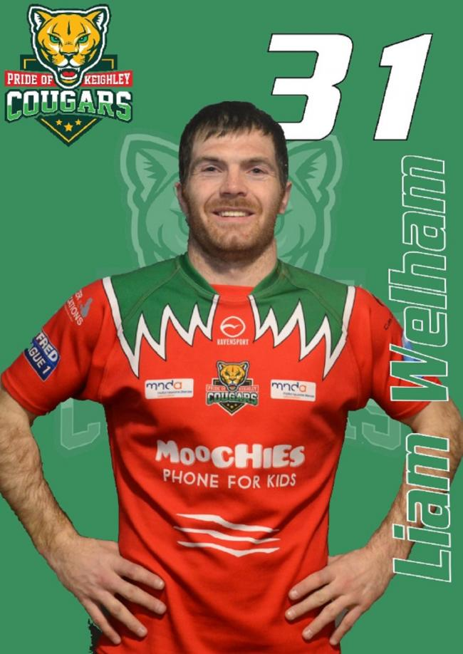 Liam Welham has joined Keighley Cougars from Doncaster. Picture: Keighley Cougars Twitter
