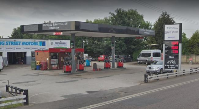 Whitehall Service Station. Picture: Google Street View.