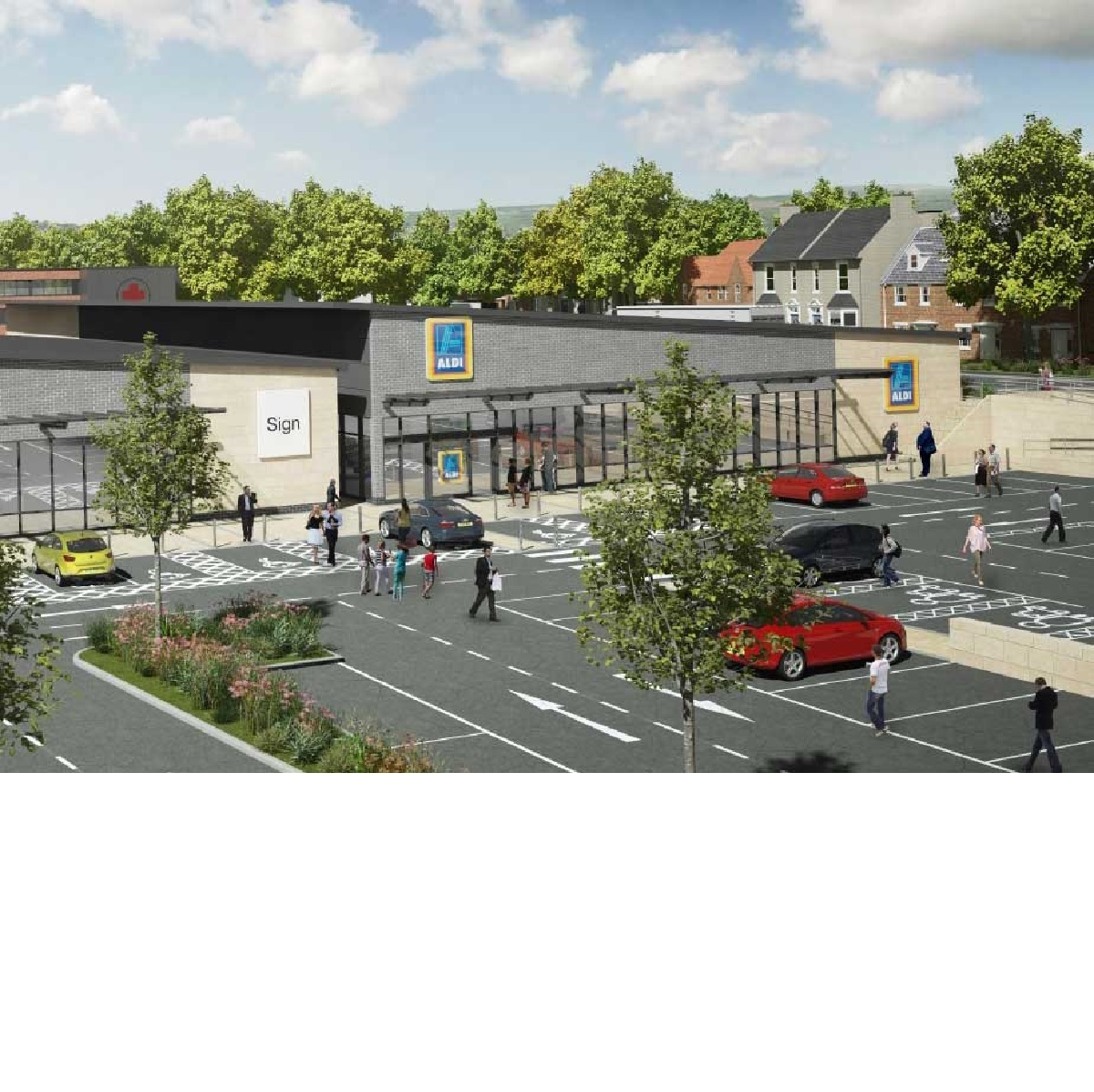 Here's how the new Aldi at Bolton Woods will look
